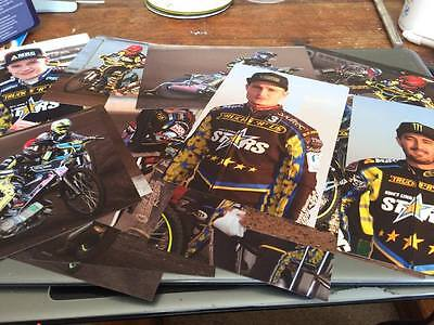 King's Lynn Stars-Speedway Photos From 2017 X 18----All 6X4--Portrait And Action