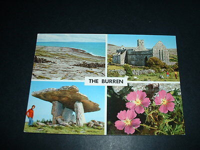 IRISH  POSTCARD THE BURREN Co CLARE   IRELAND (C 2