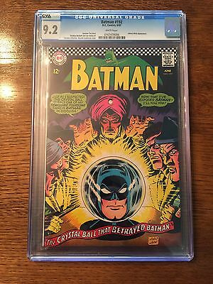 Batman Comic 192 CGC 9.2!! CVA Exceptional!Johnny Witts Appearance! White Pages!