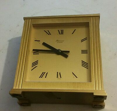 Baronet Mantle carriage Clock Swiss Movement
