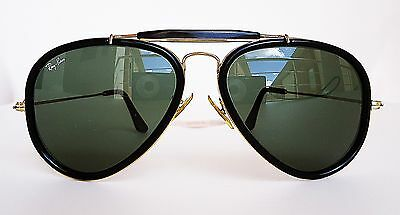 Vintage 80s Bausch & Lomb Ray Ban Road Spirit Large 62mm Outdoorsman Aviator