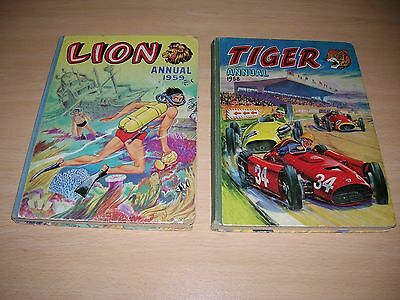 Lion Annual 1959 + Tiger Annual 1959