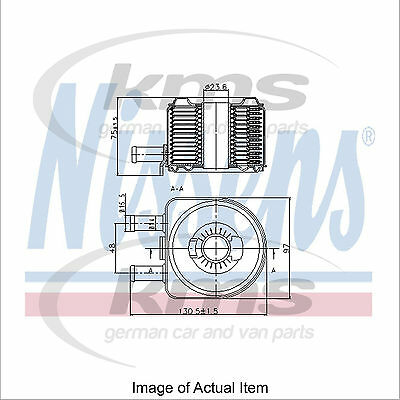 New Engine Oil Cooler NISSENS 90603 Top Quality