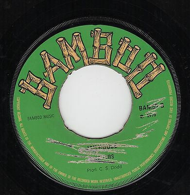 """"""" JAILHOUSE. """" the wailers. BAMBOO 7in 1970."""