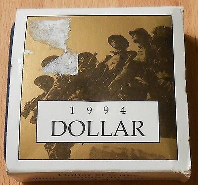 1994 Remembrance Proof Dollar - Royal Canadian Mint B