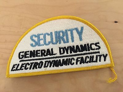 GENERAL DYNAMICS  SECURITY,ELECTRO DYNAMIC FACILITY new old stock, 1980's