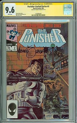 * PUNISHER Limited Series #2 CGC 9.6 SS Signed by Michael Zeck! (1330682001) *