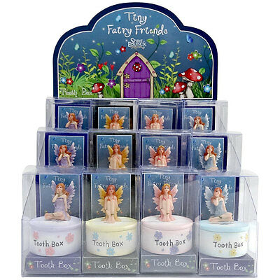 Cute Tooth Fairy Trinket Box + Free Gift