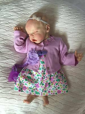 Reborn Baby Twin A or B by Bonnie Brown 17 Inches Custom, Pre order NOT finsihed