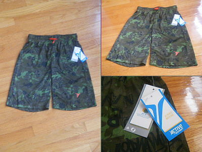 Active by Old Navy *Brand New w/ Tags* Green/Camo Shorts SIZE M/8 Drawstring