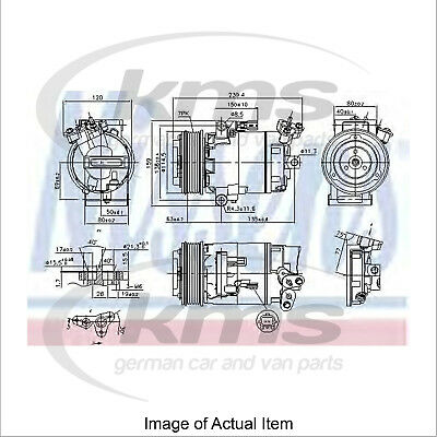 New Air Conditioning Compressor NISSENS 890015 Top Quality
