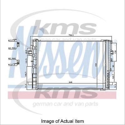 New Air Conditioning Condenser NISSENS 940322 Top Quality