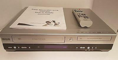 RCA DRC8320N DVD Recorder / VHS VCR Cassette Player Recorder Combo - DV input
