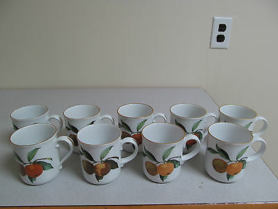 Evesham Royal Worcester Flame Proof England Porcelain Tea Coffee Cup
