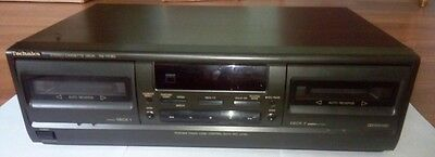 Technics RS-TR180 Black Dual Cassette Deck
