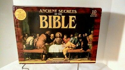 Ancient Secrets of the Bible: The Complete Series, VHS 2013 10 Part Series