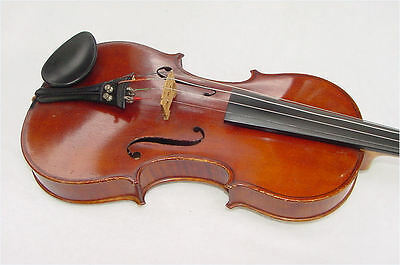 Antique Lyon & Healy Strad Copy 4/4 Violin w/case and Bows-Nice Flame Back