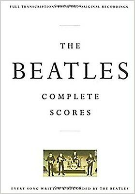 beatles, the complete scores; trans form the orig records