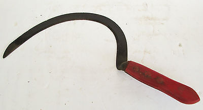 "Old Hand Scythe~17.5""~Scarry Halloween Prop~Farm~Ranch~Grass/weed~Cutter/slasher"