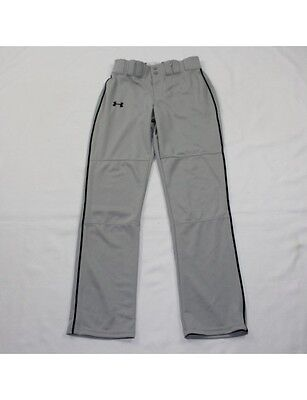 UNDER ARMOUR Men's Gray Baseball Pants Size S (NWT)