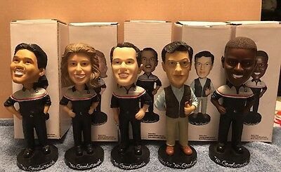 Rare!!collectors Full Set Mr. Goodwrench Bobble Heads With Boxes