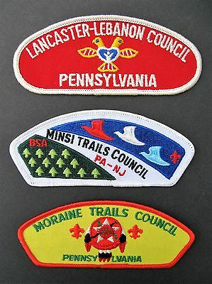 Boy Scouts Of America 3 Pennsylvania New Jersey Bsa Csp Council Shoulder Patch