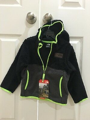 Brand New!! The North Face Toddler Boy Sherparazo Hoodie Size 3T Retail $75