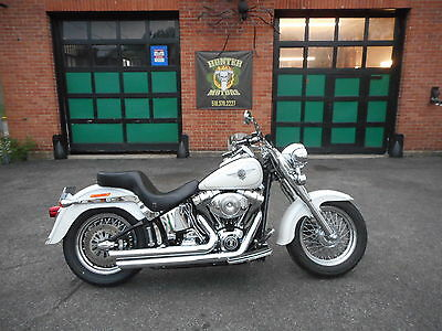 2004 Harley-Davidson Softail  2004 HARLEY DAVIDSON FLSTFI FATBOY  FUEL INJECTED  PEARL WHITE EXCEPTIONAL COND!