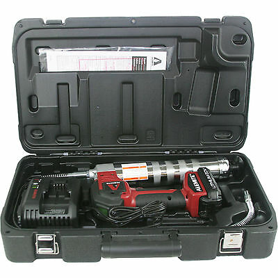 Alemite 596-A 20-Volt Lithium-Ion Cordless Grease Gun Kit with LCD Display Tools