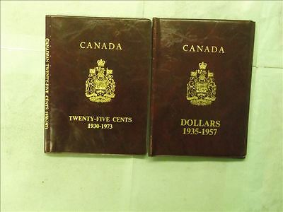 Canada Lot of 2 Empty Used Coin binder