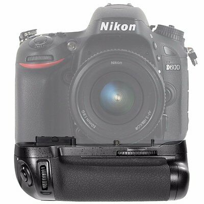 Power Vertical Battery Grip Holder for DSLR Nikon D600 D610 DSLR Camera