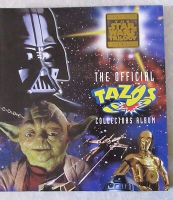 STAR WARS Trilogy Edition - Official TAZOS Collectors Album - 10 missing