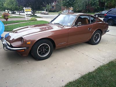 1973 Datsun Z-Series Chrome 1973 Datsun 240Z