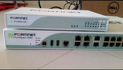 Routers and Firewall- Fortigate 100D, Cisco1900 X 2 and cisco 887