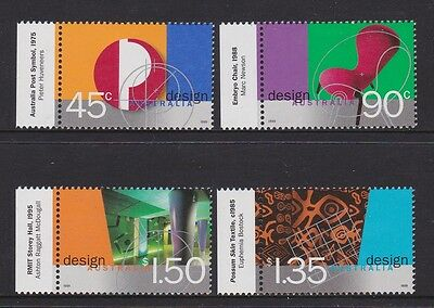Australia 1999 : Design Australia - Set of 4 Decimal Stamps with Tads, MNH