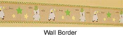 CoCalo Lil Dreamer Nursery Wall Paper Border~ Prepasted, Washable, Strippable