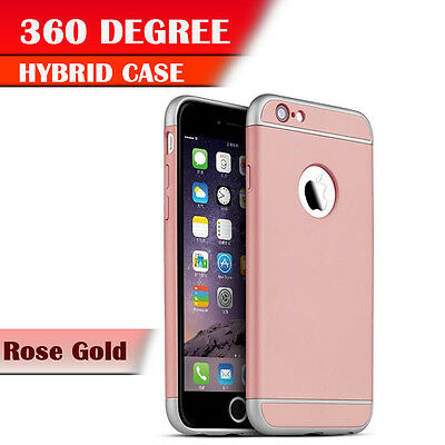 NEW Shockproof Back Case Cover for Apple iPhone 6 6s ROSE GOLD [108