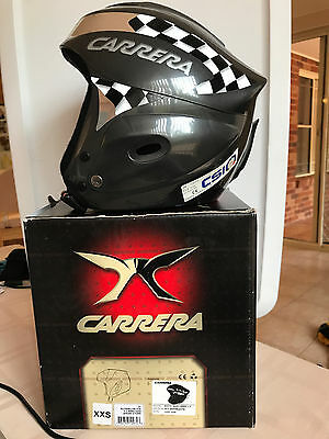 Childs Carrera ski helmet