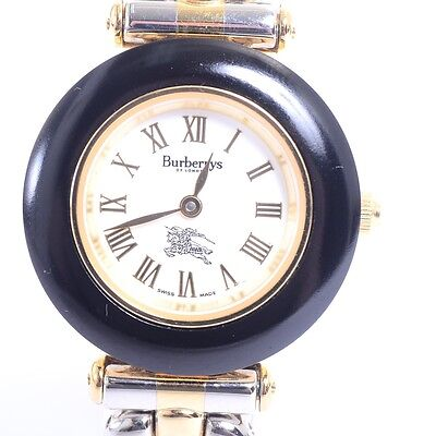 Authentic BURBERRY   Watches 9100 L<A new battery has been installed>