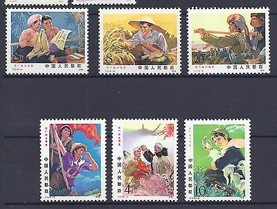 China Stamps T17 Set MNH OG (See Scan)
