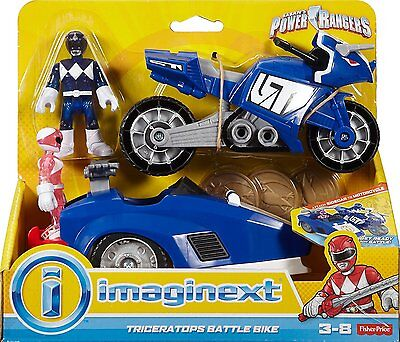Imaginext Power Rangers Triceratops Battle Bike