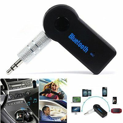 Universal Bluetooth 3.5mm Streaming Car Adapter Wireless Audio Music Receiver