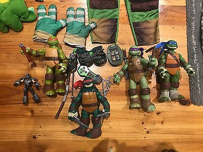 Kids costume TNMT and toys