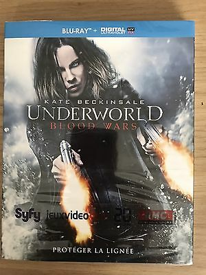 Blu Ray UNDERWORLD BLOOD WARS neuf sous cello