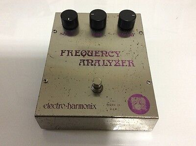 Vintage 1970's Electro Harmonix Frequency Analyzer Ring Modulator Effects Pedal