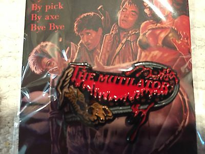 The Mutilator Horror Movie Lapel Pin Free Shipping Within USA 50 Limited Edition