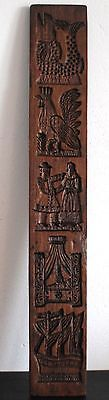 Antique Dutch Wooden Carved Double Side Mold Cookie Springerle 10 Images