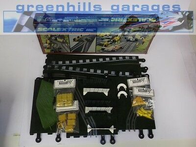 Greenhills Scalextric Classic Goodwood Chicane  + Accessories C177 Boxed Used...