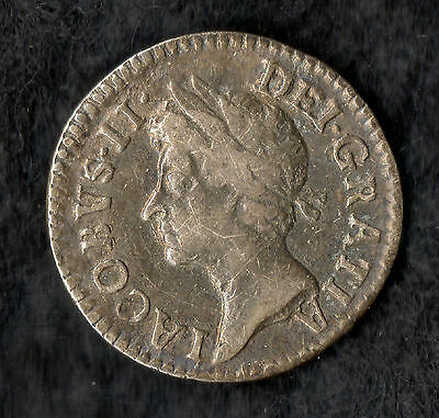 James II Maundy Twopence Silver 1687