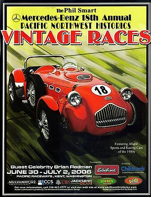 Pacific Northwest Historics Vintage Racing Program 2006 Seattle Washington